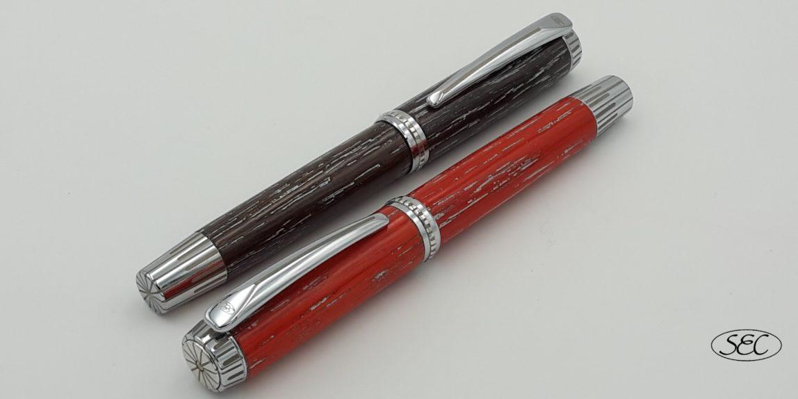 Penna in legno fatta a mano LUCE